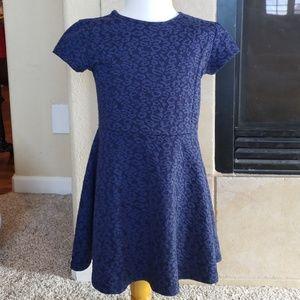 GAP Kids Navy Blue Small Dress